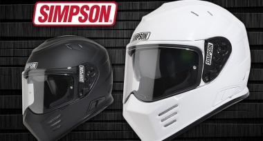 Helmy SIMPSON nově v Bikers Crown