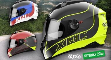 Nové integrální helmy XRC skladem!