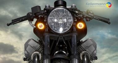 Prémiové doplňky na motocykly Kellermann skladem!