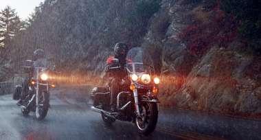 Připrav se na deštivé vyjížďky...