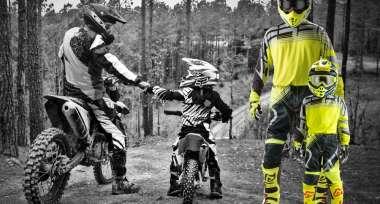 Široká nabídka výrobků pro motokros a enduro
