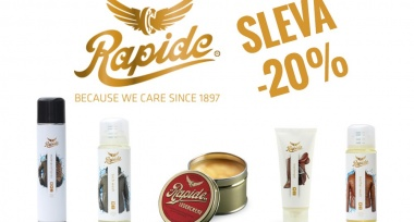 Akce! Sleva -20% na produkty značky Rapide