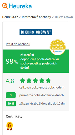 Heureka Bikers Crown