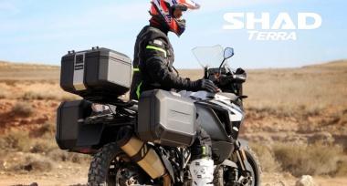 Novinka: Hliníkové kufry SHAD TERRA BLACK edition skladem!