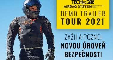 Tech-Air demo trailer TOUR 2021 v plném proudu