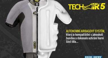 Novinka na trhu: Airbagová vesta Alpinestars Tech-Air 5