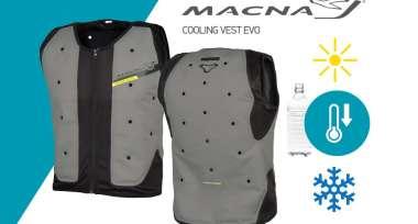 Princip chladící vesty MACNA