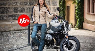 Trilobite Tuscan - elegantní dámská moto bunda za hubičku!